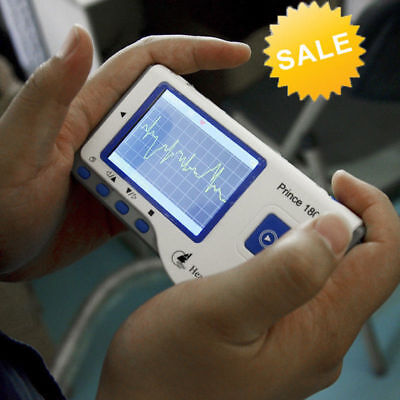 Ca Heal Force Prince 180b Handheld Easy Ecg Ekg Portable Heart Monitor Software