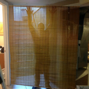 """Bamboo Blind - 60"""" Wide X 70"""" Long - Asking $40.00 OBO"""