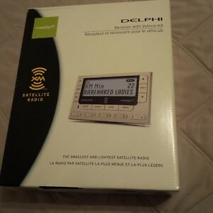 Delphi Roady XT SA10175 XM Radio Receiver & Vehicle kity $50