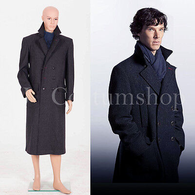 Coat Costume Wool Version  <Custom Made> (Sherlock Holmes Cape)