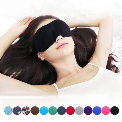32629b1a252 3D Sleep Masks Padded Travel Sleeping Eye Shade Cover Soft Rest Blindfold  Mask (283001134606)