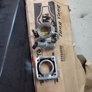 bbk 70mm throttle body and egr plate 86-93 mustang 5.0L