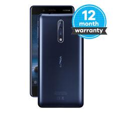 "Nokia 8 - 64 GB - Tempered Blue (Unlocked) Smartphone - 5.3"" Touchscreen 6GB RAM"