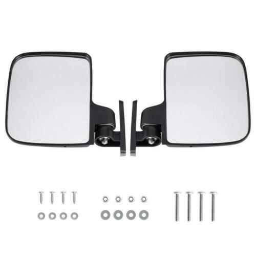 HW9008 Golf Cart Folding Side View Mirrors Club Car, EZGO,Yamaha,Star,Zone Carts