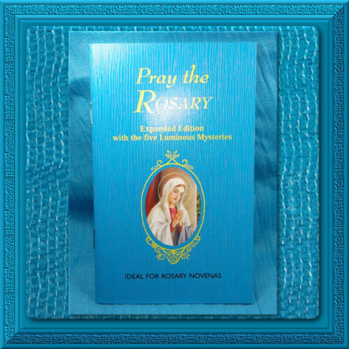 Catholic How to Pray The Rosary Prayer Book Booklet Scripture Readings 64 Pgs