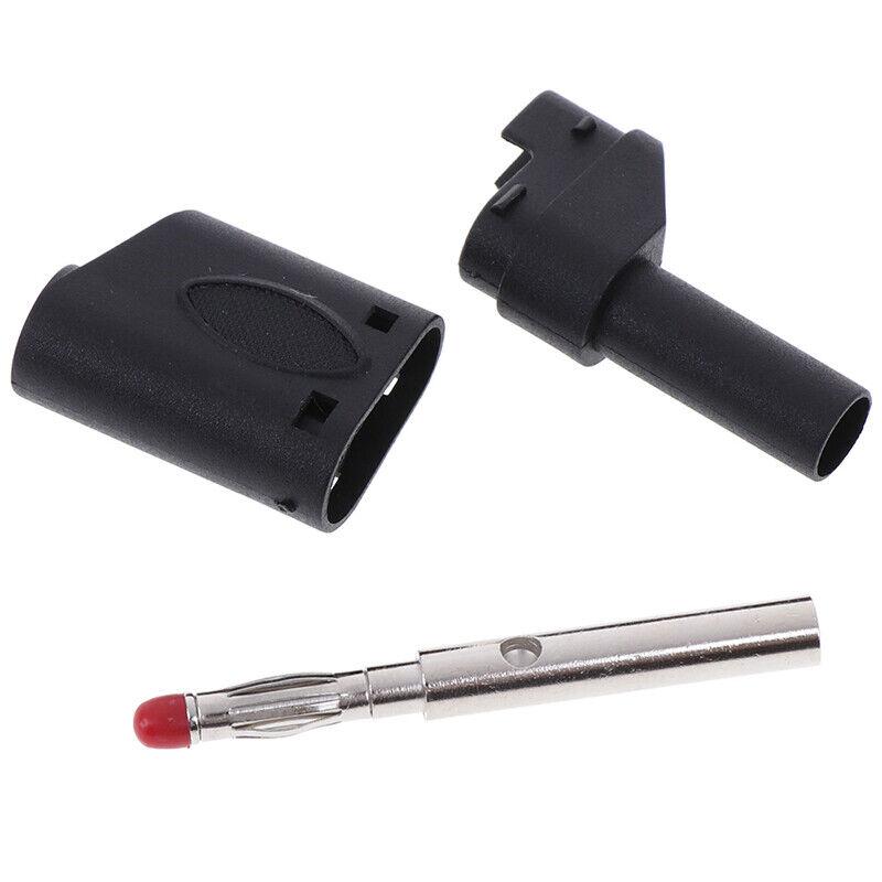10Pcs Safety 4mm Stackable Plug Shrouded SE