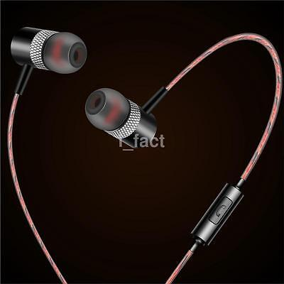Super Bass Headphones Stereo In-ear Earphones Surround Sound Headset Earbuds US