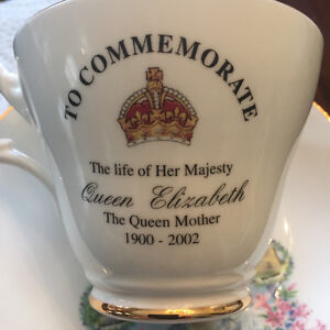Queen Mother Cup & Saucer