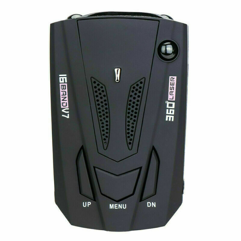 как выглядит Car Radar 16 Band V7 GPS Speed Police Safe Detector Voice Alert Laser 360 Degree фото