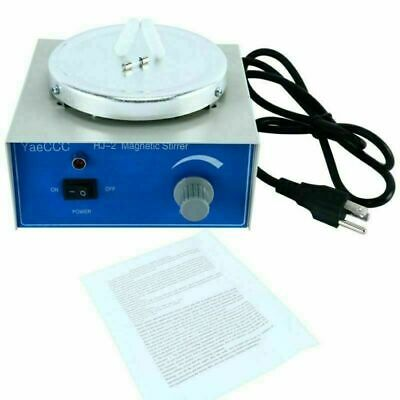 Hj-2 Magnetic Stirrerstir Platemagnetic Mixer With 2 Stir Bars Us Ship