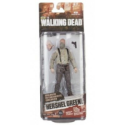 Mcfarlane Walking Dead Series 7 Hershel Greene Slight Damaged Card Free Shipping