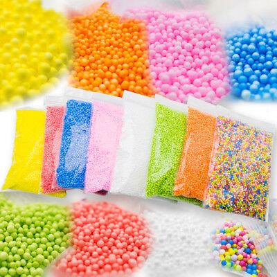 8 Colors Styrofoam Foam Balls for Slime Styrofoam Beads Polystyrene DIY Gift - Styrofoam Beads