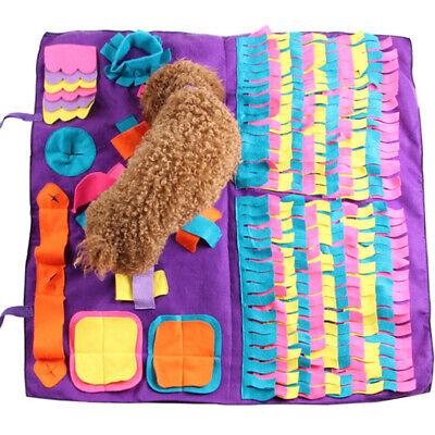 Hunde Aktivität Teppich Haustier Schnüffeltraining Spielen Matte Decke Abnehmbar