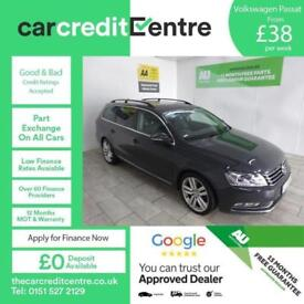 GREY VOLKSWAGEN PASSAT 1.6 EXECUTIVE STYLE TDI BMT ***FROM £38 PER WEEK***