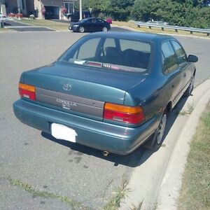 1995 Toyota Corolla Sedan AS IS for Parts Only