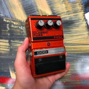 DOD FX52 Fuzz Pedal with Adaptor