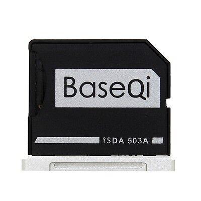 BASEQI Aluminum miniDrive : MicroSD Adapter for Macbook Pro Retina 15 (iSDA503A)