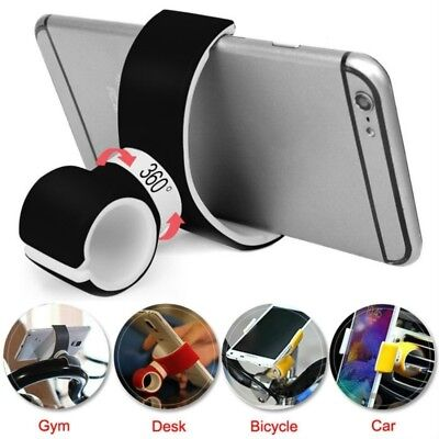Creative 360Degree Air Vent Mount Bike Car Cell Phone Holders Stand Accessories