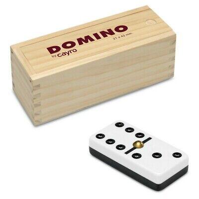 Domino Metacrilato «CAYRO» en Caja de Madera, Juegos de Mesa
