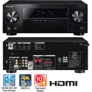 Pioneer VSX-530-K 5.1 Channel 4K Ultra HD with Built Bluetooth