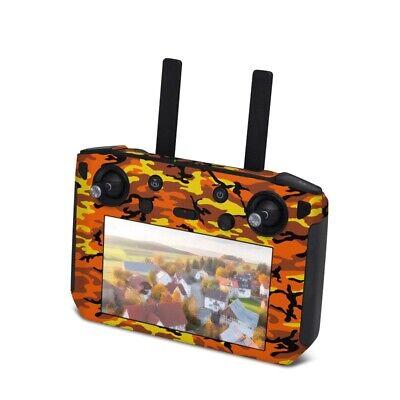DJI Smart Controller Wrap - Orange Camo - Sticker Skin Decal