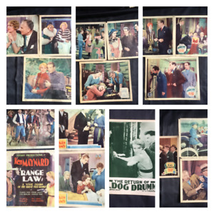 1930's Lobby Cards and glass slides