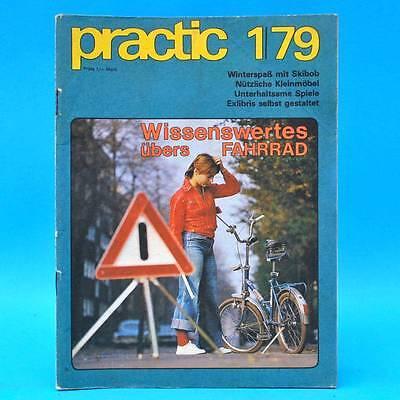 DDR practic 1/1979 Makramee Skibob Mikrofilme Denkspiel Exlibris Folienmalerei J