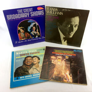 4 Broadway Musical Records LP Albums My Fair Lady South Pacific