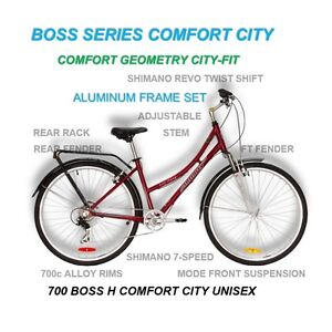 Like NEW Infinity boss H-Four 7 speed City Road Bicycle