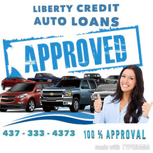 LIBERTY CREDIT AUTO LOANS !! APPROVAL GUARANTEED