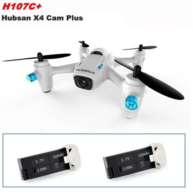 Hubsan X4 Cam Plus H107C 2.4G 4CH HD 720P Mini RC Drone Quadcopter+Extra Battery