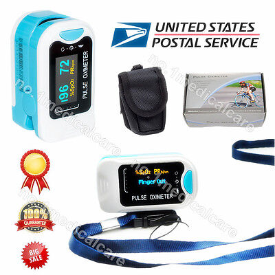 Portable Oled Finger Fingertip Pulse Oximeter Spo2 Pr Blood Oxygen Machine