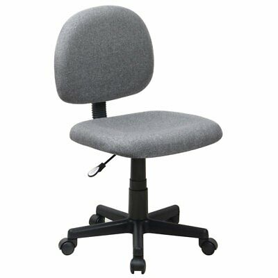 Flash Furniture Armless Ergonomic Task Office Chair In Gray