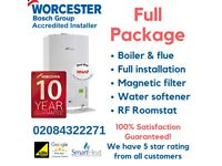 CHEAP!! Worcester boilers supply&fit From £1549 /Worcester ACCREDITED INSTALLERS/BOILER INSTALLATION