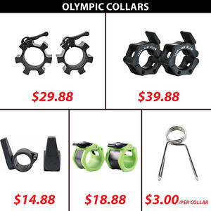 Spring Lock Bar Olympic Hex Aluminum Star Collar Collars Clamp