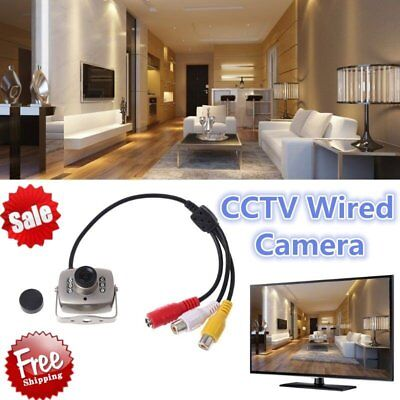 IR Wired CCTV Mini Camera Security Color Night Vision Infrared Video Recorder XP