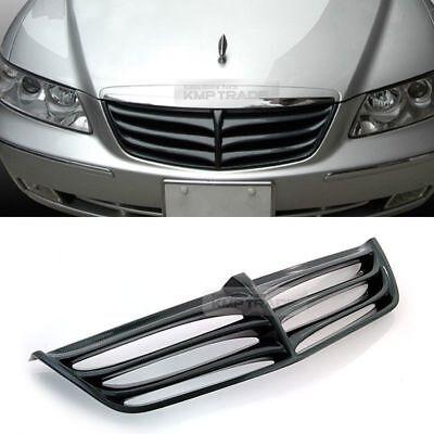 Radiator Hood Grille Real Carbon For HYUNDAI 2006-2011 Azera TG