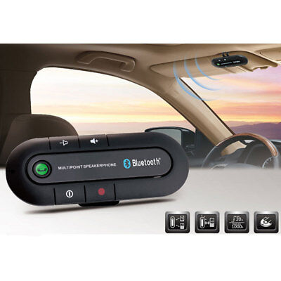 Wireless Bluetooth Handsfree Car Auto Kit Speakerphone Speaker for Mobile Phone