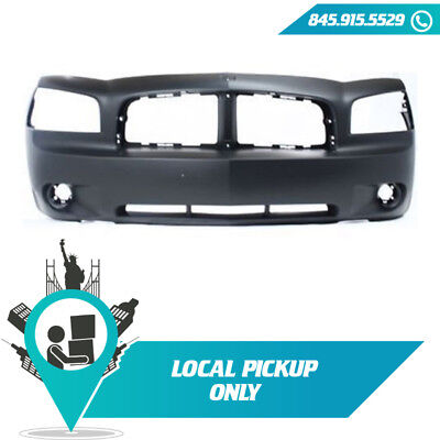 LOCAL PICKUP 2006-2010 FITS DODGE CHARGER FRONT BUMPER COVER PRIMED CH1000461 Dodge Charger Bumper Cover