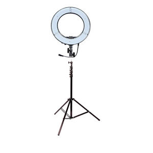 "14(inch) LED Diva Ring Light ""Comes With Stand"""