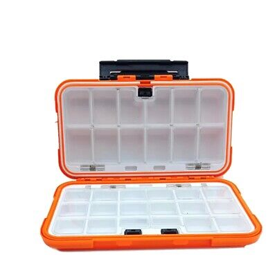 Details about  /3//4 Layers Waterproof Fishing Tackle Box Cantilever Tray Lures Accessories Case