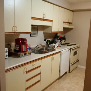 2 bedroom condo for rent with 1 free parking spot