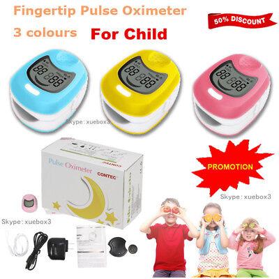 Child Infant Kids Children Fingertip Pulse Oximeterspo2 Monito Cms50qa Oxymeter