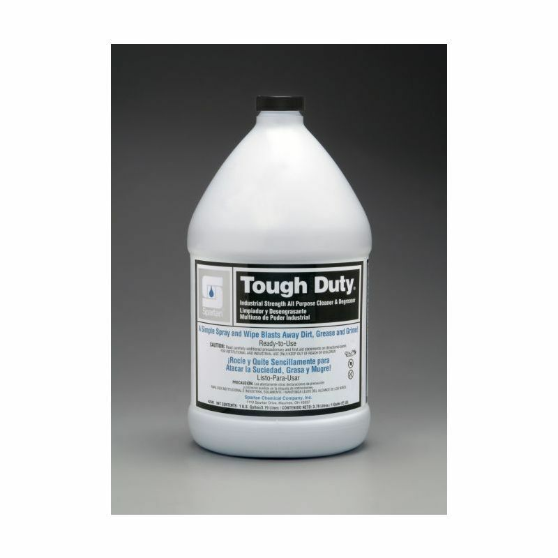 Spartan Tough Duty Industrial Cleaner, Gallons, 4 Per Case