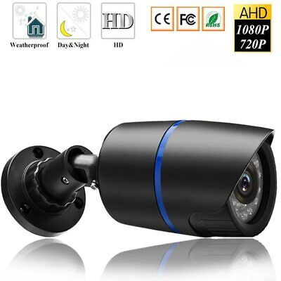 HD 1080P AHD Security Camera Outdoor infrared Night Vision Bullet Surveillance