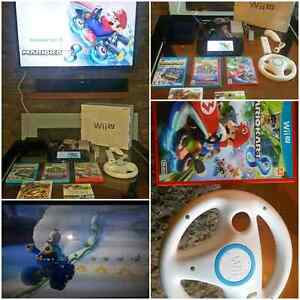GREAT Wii U PACKAGE FOR CHRISTMAS  / TRES BELLE ENSEMBLE Wii U