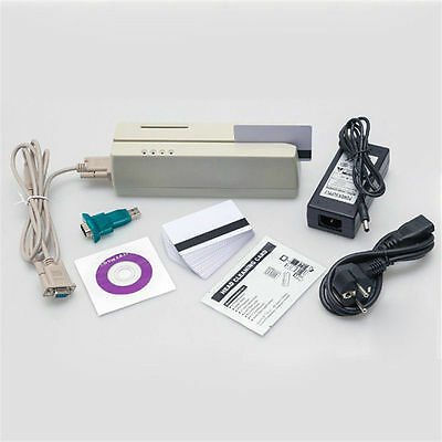 Mcr200 Magnetic Stripeemv Smart Ic Card Reader Writer Lohi Co Track 1 2 3
