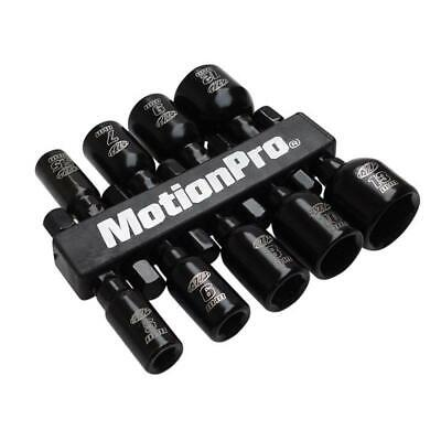 Motion Pro 1/4 Magnetic Nut Driver Set Metric Tool 08-0590