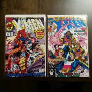 Uncanny X-Men 276 to 298, X-Force, X-Factor, X-Men prices in ad