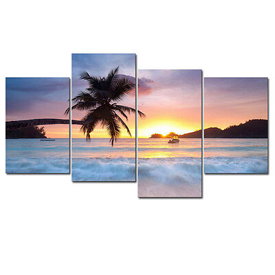 Framed Poster Picture Landscape Canvas Art Print Photo Wall Home Decor Seascape